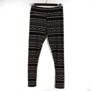 F92 Balance Collection Brown White Legging Size S